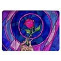 Enchanted Rose Stained Glass Samsung Galaxy Tab 10.1  P7500 Flip Case View1