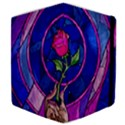 Enchanted Rose Stained Glass Samsung Galaxy Tab 10.1  P7500 Flip Case View4