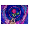 Enchanted Rose Stained Glass Samsung Galaxy Tab 8.9  P7300 Flip Case View1