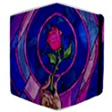 Enchanted Rose Stained Glass Samsung Galaxy Tab 8.9  P7300 Flip Case View4