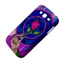 Enchanted Rose Stained Glass Samsung Galaxy Grand DUOS I9082 Hardshell Case View4