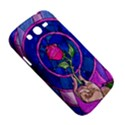 Enchanted Rose Stained Glass Samsung Galaxy Grand DUOS I9082 Hardshell Case View5