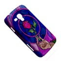 Enchanted Rose Stained Glass Samsung Galaxy Duos I8262 Hardshell Case  View5