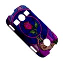 Enchanted Rose Stained Glass Samsung Galaxy S7710 Xcover 2 Hardshell Case View5