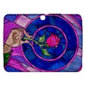 Enchanted Rose Stained Glass Samsung Galaxy Tab 3 (10.1 ) P5200 Hardshell Case  View1