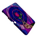 Enchanted Rose Stained Glass Samsung Galaxy Tab 3 (10.1 ) P5200 Hardshell Case  View5