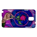 Enchanted Rose Stained Glass Samsung Galaxy Note 3 N9005 Hardshell Case View1