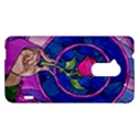 Enchanted Rose Stained Glass HTC One Max (T6) Hardshell Case View1
