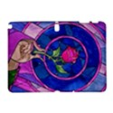 Enchanted Rose Stained Glass Samsung Galaxy Note 10.1 (P600) Hardshell Case View1