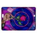 Enchanted Rose Stained Glass Amazon Kindle Fire HD (2013) Hardshell Case View1
