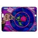 Enchanted Rose Stained Glass Kindle Fire HDX Hardshell Case View1