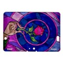 Enchanted Rose Stained Glass Kindle Fire HDX 8.9  Hardshell Case View1