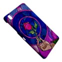 Enchanted Rose Stained Glass Samsung Galaxy Tab Pro 8.4 Hardshell Case View4