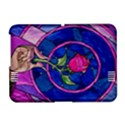 Enchanted Rose Stained Glass Amazon Kindle Fire (2012) Hardshell Case View1
