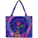 Enchanted Rose Stained Glass Mini Tote Bag View1