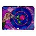 Enchanted Rose Stained Glass Samsung Galaxy Tab 4 (10.1 ) Hardshell Case  View1