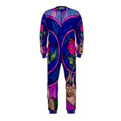 Enchanted Rose Stained Glass OnePiece Jumpsuit (Kids)