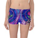 Enchanted Rose Stained Glass Boyleg Bikini Bottoms View1