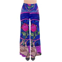 Enchanted Rose Stained Glass Pants