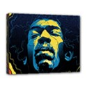 Gabz Jimi Hendrix Voodoo Child Poster Release From Dark Hall Mansion Canvas 14  x 11  View1