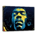 Gabz Jimi Hendrix Voodoo Child Poster Release From Dark Hall Mansion Canvas 16  x 12  View1