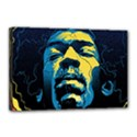 Gabz Jimi Hendrix Voodoo Child Poster Release From Dark Hall Mansion Canvas 18  x 12  View1