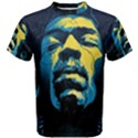 Gabz Jimi Hendrix Voodoo Child Poster Release From Dark Hall Mansion Men s Cotton Tee View1