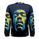 Gabz Jimi Hendrix Voodoo Child Poster Release From Dark Hall Mansion Men s Long Sleeve Tee View2