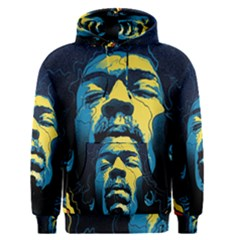 Gabz Jimi Hendrix Voodoo Child Poster Release From Dark Hall Mansion Men s Pullover Hoodie