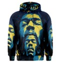 Gabz Jimi Hendrix Voodoo Child Poster Release From Dark Hall Mansion Men s Pullover Hoodie View1
