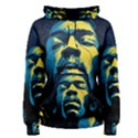 Gabz Jimi Hendrix Voodoo Child Poster Release From Dark Hall Mansion Women s Pullover Hoodie View1