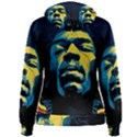 Gabz Jimi Hendrix Voodoo Child Poster Release From Dark Hall Mansion Women s Pullover Hoodie View2