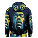 Gabz Jimi Hendrix Voodoo Child Poster Release From Dark Hall Mansion Men s Zipper Hoodie View2