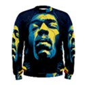 Gabz Jimi Hendrix Voodoo Child Poster Release From Dark Hall Mansion Men s Sweatshirt View1