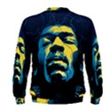 Gabz Jimi Hendrix Voodoo Child Poster Release From Dark Hall Mansion Men s Sweatshirt View2