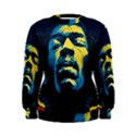 Gabz Jimi Hendrix Voodoo Child Poster Release From Dark Hall Mansion Women s Sweatshirt View1