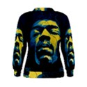 Gabz Jimi Hendrix Voodoo Child Poster Release From Dark Hall Mansion Women s Sweatshirt View2