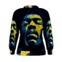 Gabz Jimi Hendrix Voodoo Child Poster Release From Dark Hall Mansion Women s Sweatshirt View2