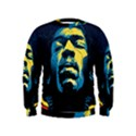 Gabz Jimi Hendrix Voodoo Child Poster Release From Dark Hall Mansion Kids  Sweatshirt View1