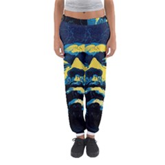 Gabz Jimi Hendrix Voodoo Child Poster Release From Dark Hall Mansion Women s Jogger Sweatpants