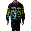 Gabz Jimi Hendrix Voodoo Child Poster Release From Dark Hall Mansion Hooded Wind Breaker (Kids) View1