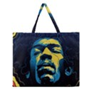 Gabz Jimi Hendrix Voodoo Child Poster Release From Dark Hall Mansion Zipper Large Tote Bag View1