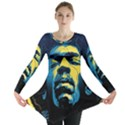 Gabz Jimi Hendrix Voodoo Child Poster Release From Dark Hall Mansion Long Sleeve Tunic  View1
