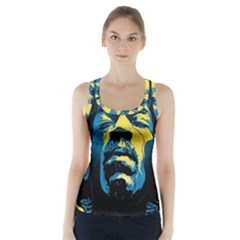 Gabz Jimi Hendrix Voodoo Child Poster Release From Dark Hall Mansion Racer Back Sports Top
