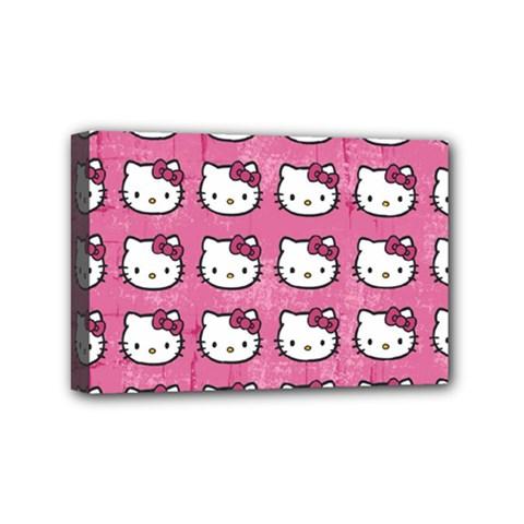 Hello Kitty Patterns Mini Canvas 6  x 4