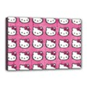 Hello Kitty Patterns Canvas 18  x 12  View1