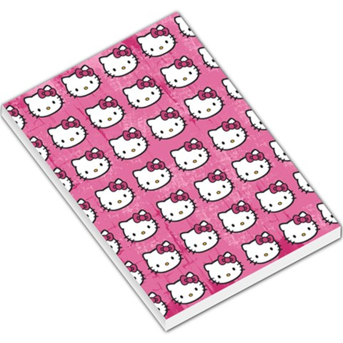Hello Kitty Patterns Large Memo Pads