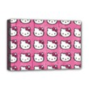 Hello Kitty Patterns Deluxe Canvas 18  x 12   View1