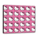 Hello Kitty Patterns Deluxe Canvas 24  x 20   View1