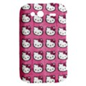 Hello Kitty Patterns HTC Wildfire S A510e Hardshell Case View2